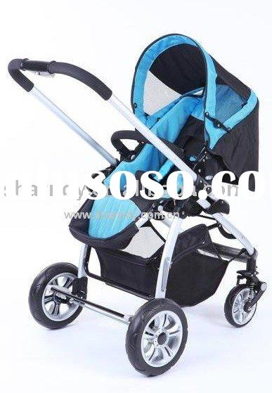 EN1888 Aluminium Baby stroller 3in1 with car seat and carrier