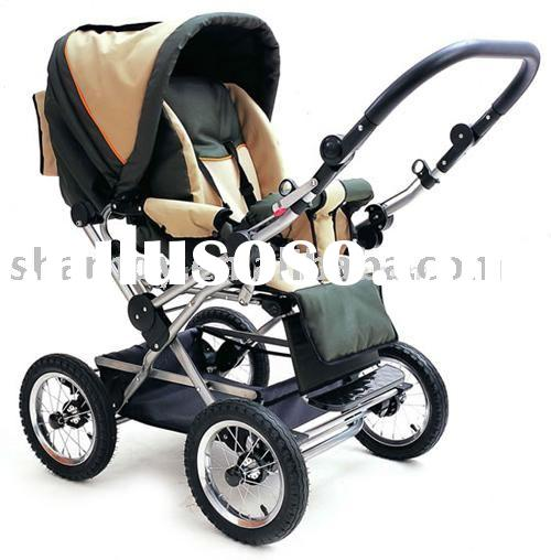 EN1888 baby stroller with foot cover carry cot 703B