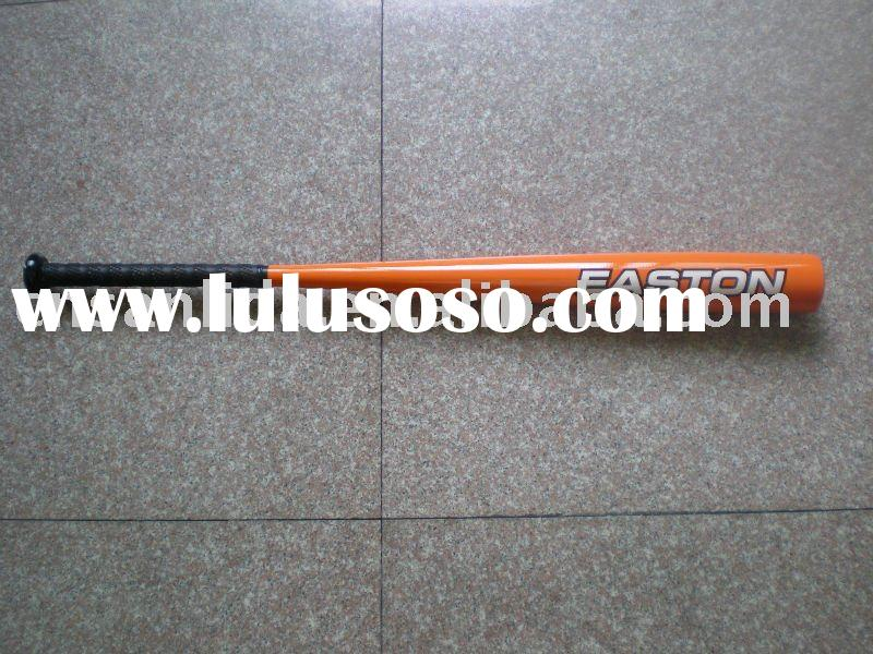 Easton with orange color aluminum baseball bat & softball bat, aluminum alloy baseball bat
