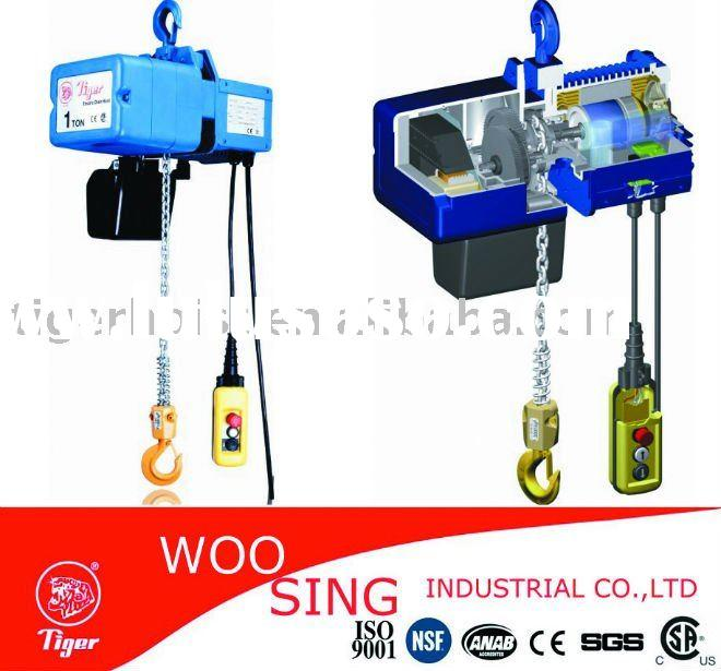 Electric Chain Hoist - 1 Ton & 2 Ton