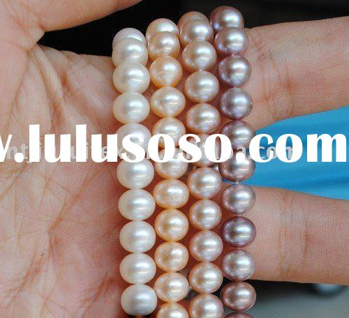 FREE SHIPPING AAA High Quality 5-6mm white Near Round Natural Freshwater Fashion Pearl Necklace Jewe