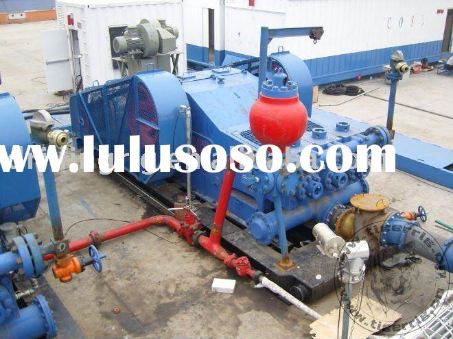 F-500 Mud Pump Package (driven by DC Motor),Use For Workover Rig