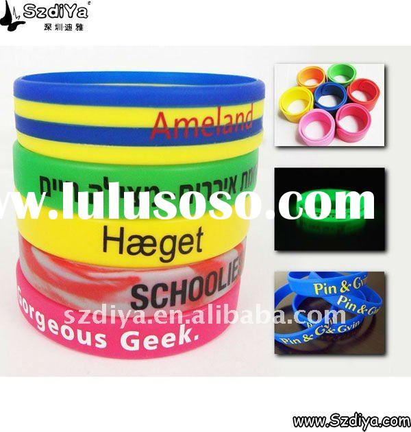 Custom Silicone Wristbands Personalized Wristbands