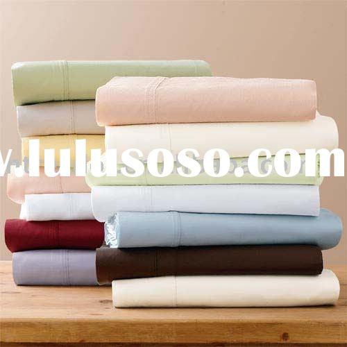 Flat sheets, bed sheets, bedding set, 100% cotton bed linens,
