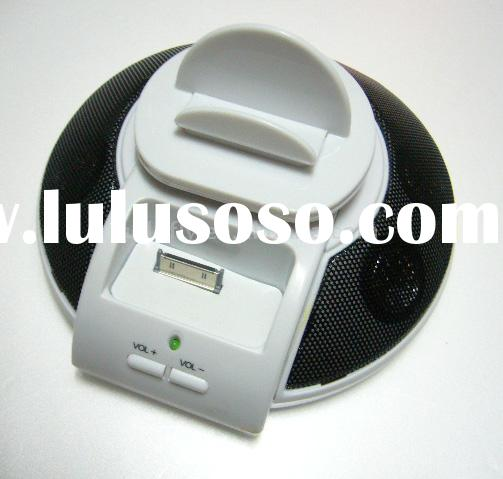 For ipod nano and MP3 speaker docking station
