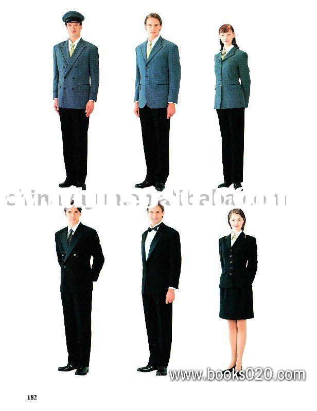 Formal wear for hotel receptionist