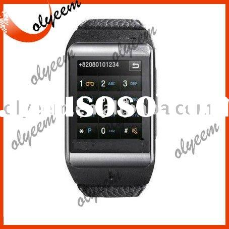 Free shipping Cheap mobile phone Large touch screen GSM bluetoooth watch phone S9110