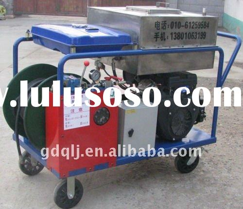 GQ(JT)-210A-3 pipe high pressure cleaning machine;water jet cleaning machine