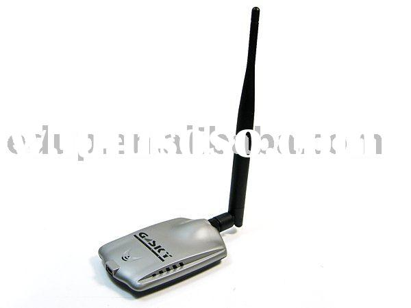 GSKY High Power Palm 500MW USB With 2dbi SMA Antenna Wireless LAN Adapter