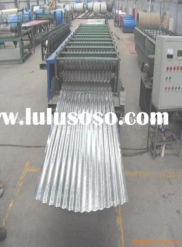 Galvanized steel roof metal sheet