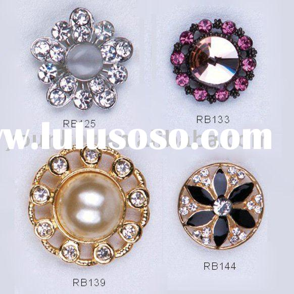 Garment accessories fashion rhinestone buttons,metal button