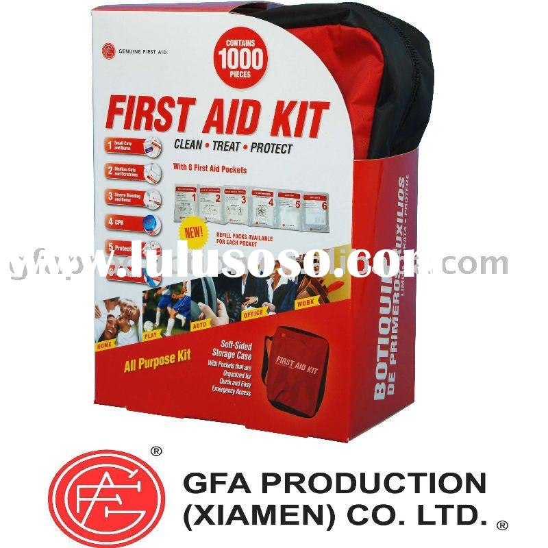 Genuine First Aid Kit Bags - 1000 pcs - Soft Case