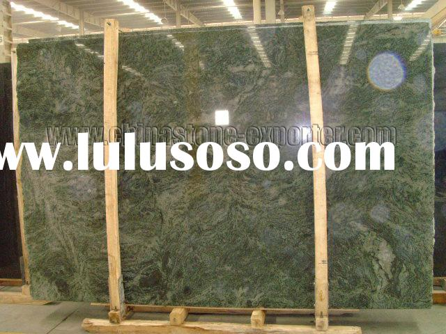 Green San Francisco(granite slabs, green granite, exotic color, random slab, big slab, tile, granite