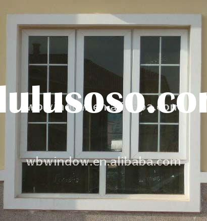 Grills design PVC window