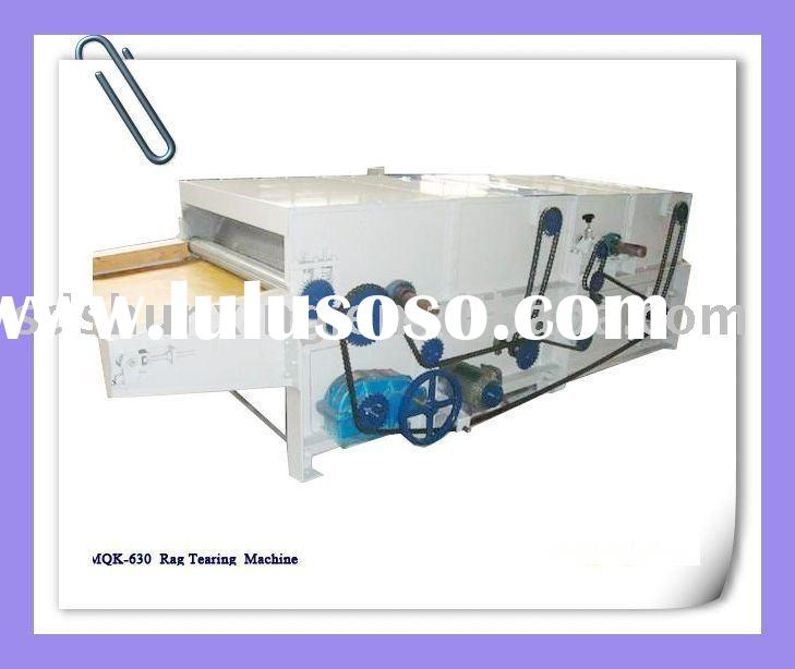 HARD WASTE /COTTON WASTE/TEXTILE WASTE RECYCLING LINE