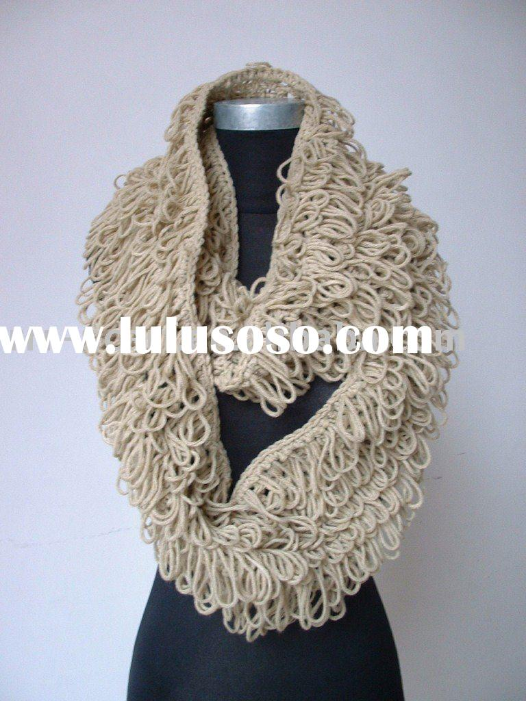 Hand knitted Crochet Scarf (Snood)