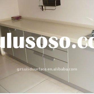 Hot Corian Kitchen Countertop / Acrylic Solid Surface Material