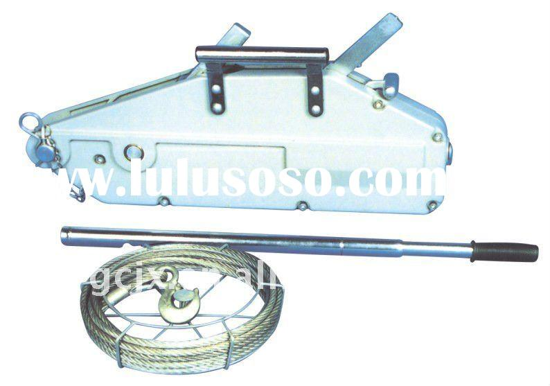 Hss408 wire rope winch