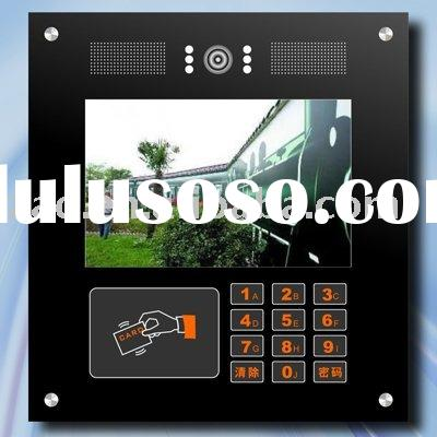 IP Video door station (TCP/IP Video Door Phone) for villa, high rise property managment