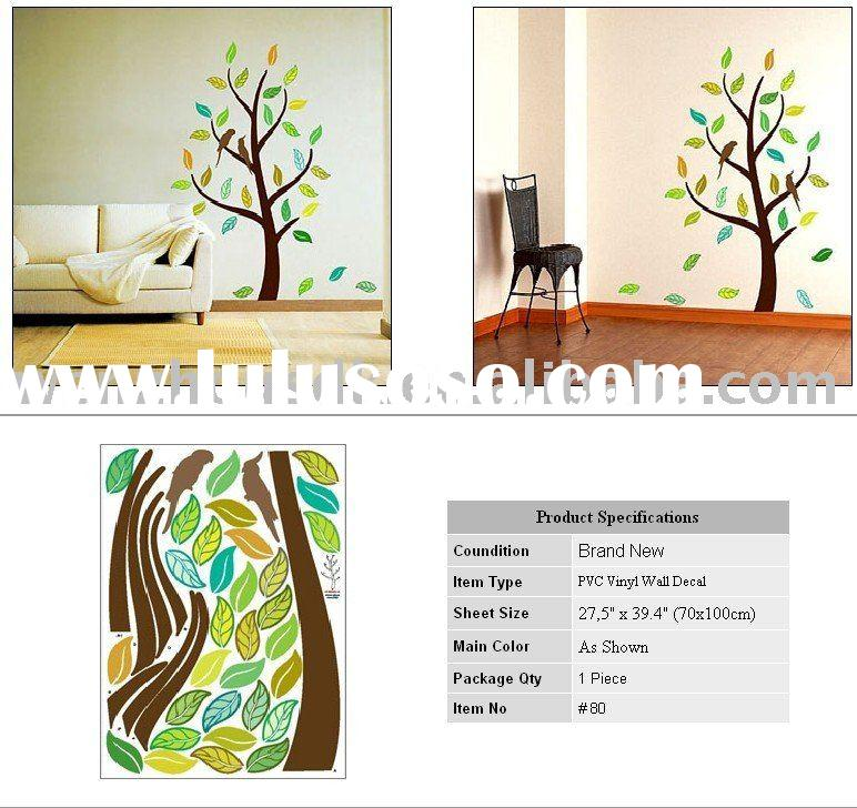 Iris Flower Wall Decal Mural Deco Vinyl Art Sticker