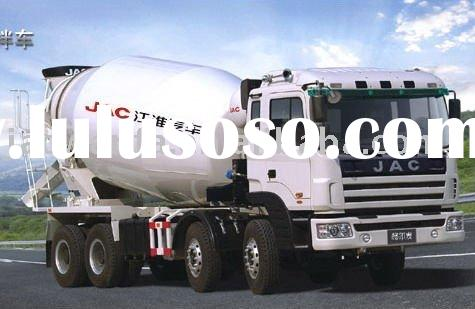 JAC 8x4 concrete mixer truck for sale