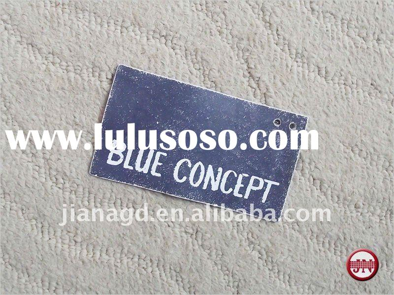 Jeans Leather Label Accept Customized Design