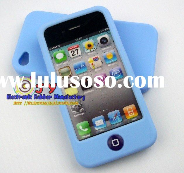 Jelly bean silicone case for iphone 4S