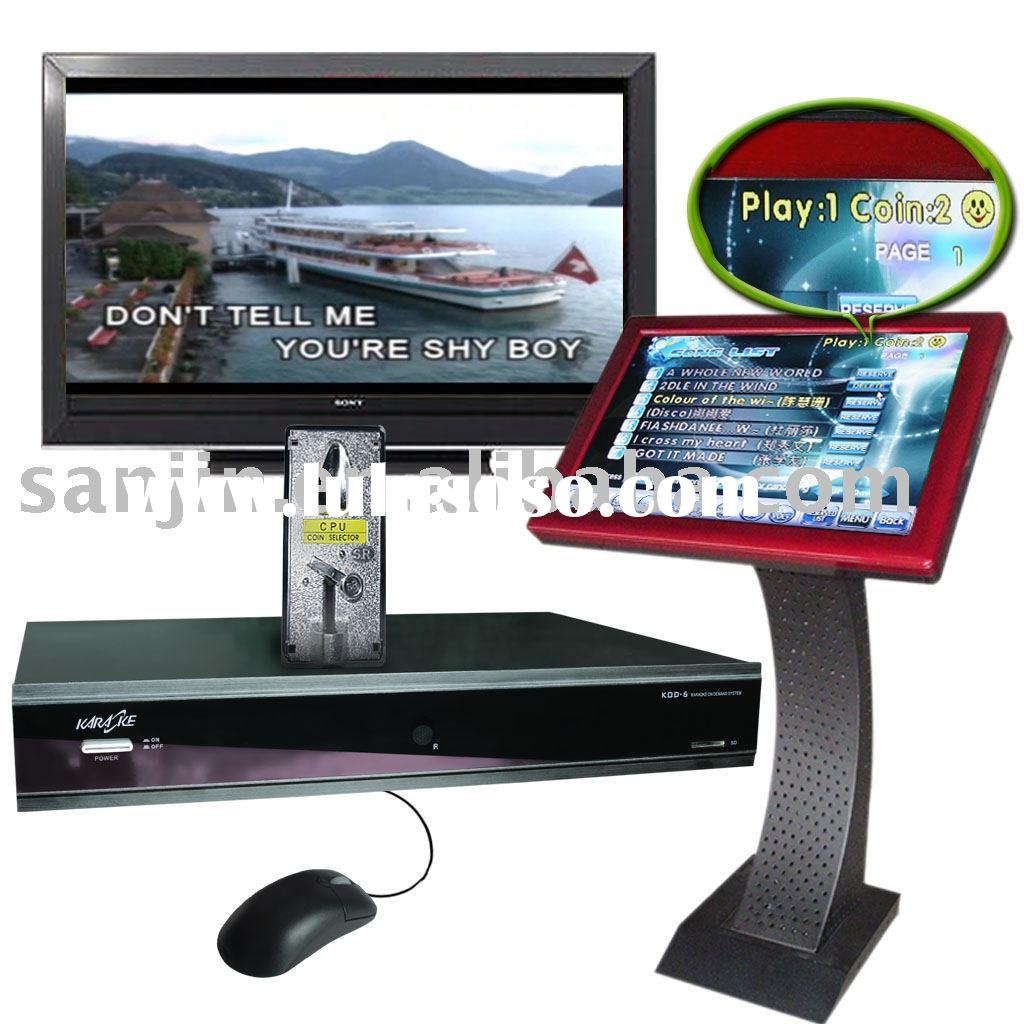Karaoke HDD Player,Karaoke,Touchscreen All in KOD6