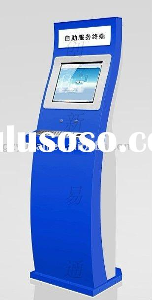 Kiosk terminal --cash dispensor / Kiosk with bill acceptor,credit card reader, MSR,touchscreen kiosk