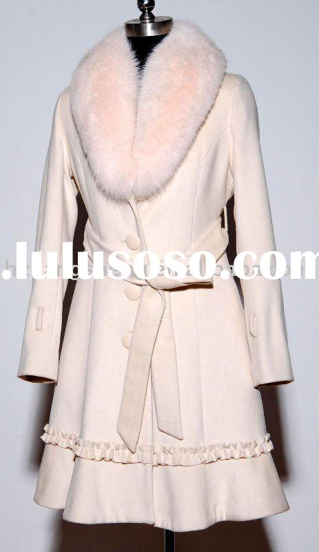 LADIES CASHMERE,WOOL FABRIC COAT