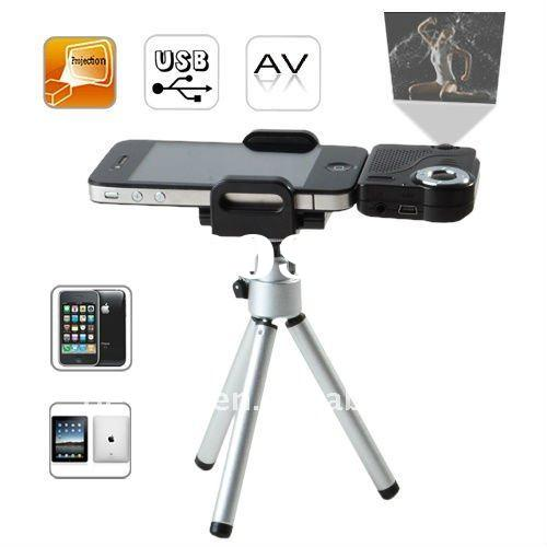 LCD Multimedia projector with mobile phone / TV tuner(with AV out)