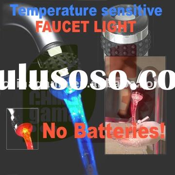 LED Faucet Light (Temperature sensitive, Non-battery operated)
