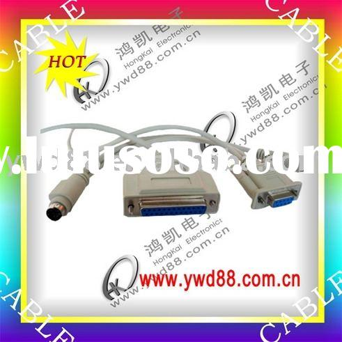 MINI USB CABLE,MINI DIN 4PIN CABLE,USB TO PS/2 ADAPTOR,DB 25PIN COMPUTER CABLE