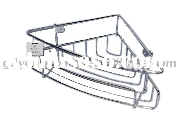Metal bathroom shelves/Wall Corner bathroom shelf