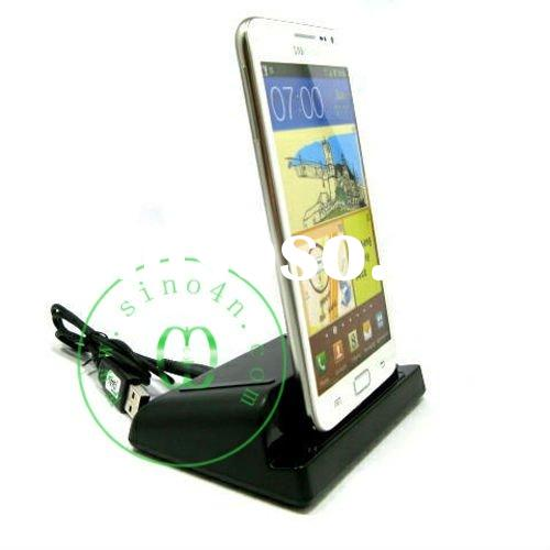 Mobile Phone USB Cradle Charder Dock Charger For Samsung Galaxy Note i9220