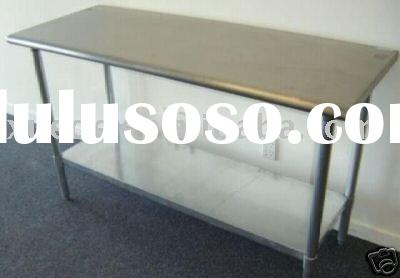 Morden customerized folding stainless steel work table