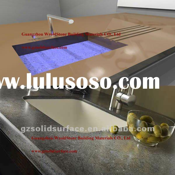 Multi-function countertop - solid surface,artificial stone
