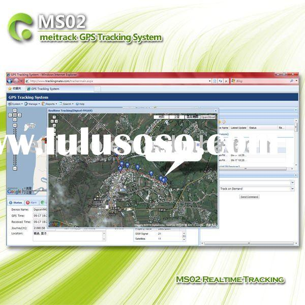 Multifunctional GPS Vehicle Tracking Software MS02