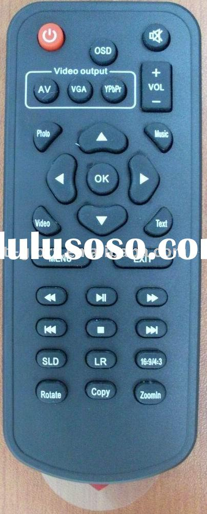 Multimedia player remote control, HDD player remote control,remote control, MP3 player remote contro