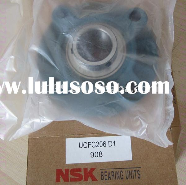 NSK spherical ball bearing with flange cartridge units cast housing UCFC313