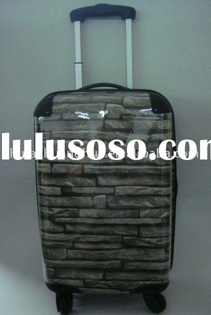 New!!! PC transparent trolley case, suitcase, carry-on luggage case, travel case