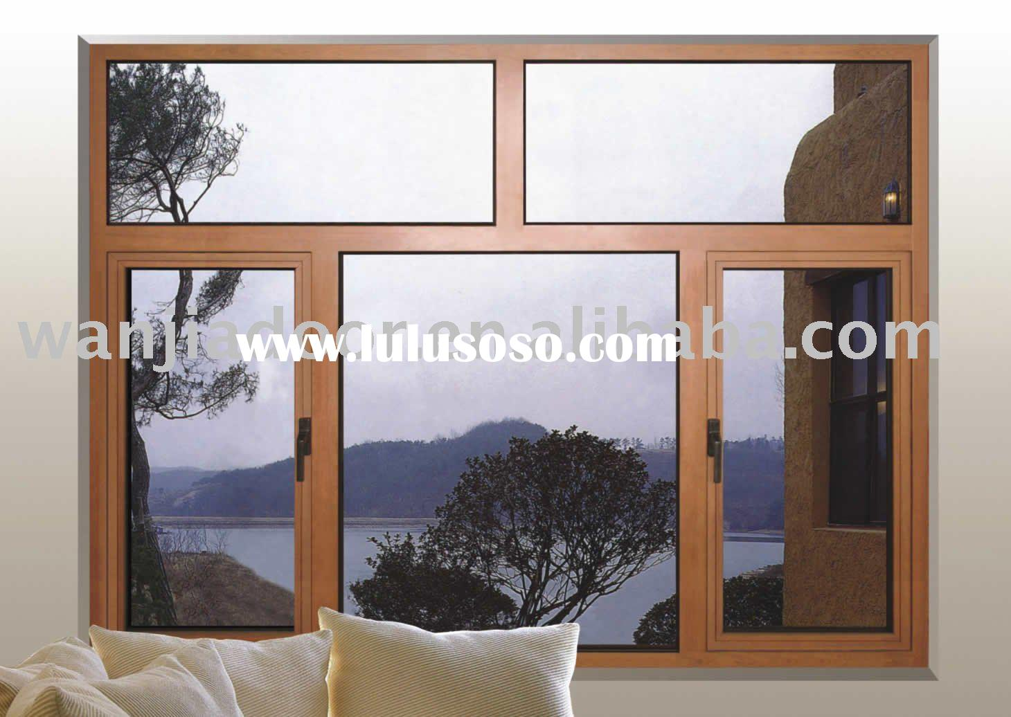 New design aluminum door window