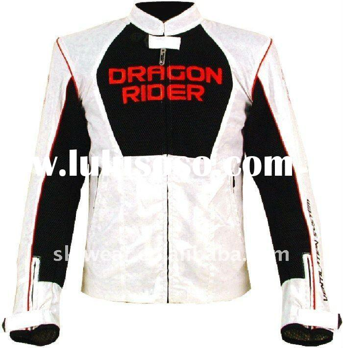 New style fashion icon motorcycle jacket for man light