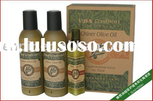 Olive Oil nourishing sleeky hair perm (curl hair, straight perm)
