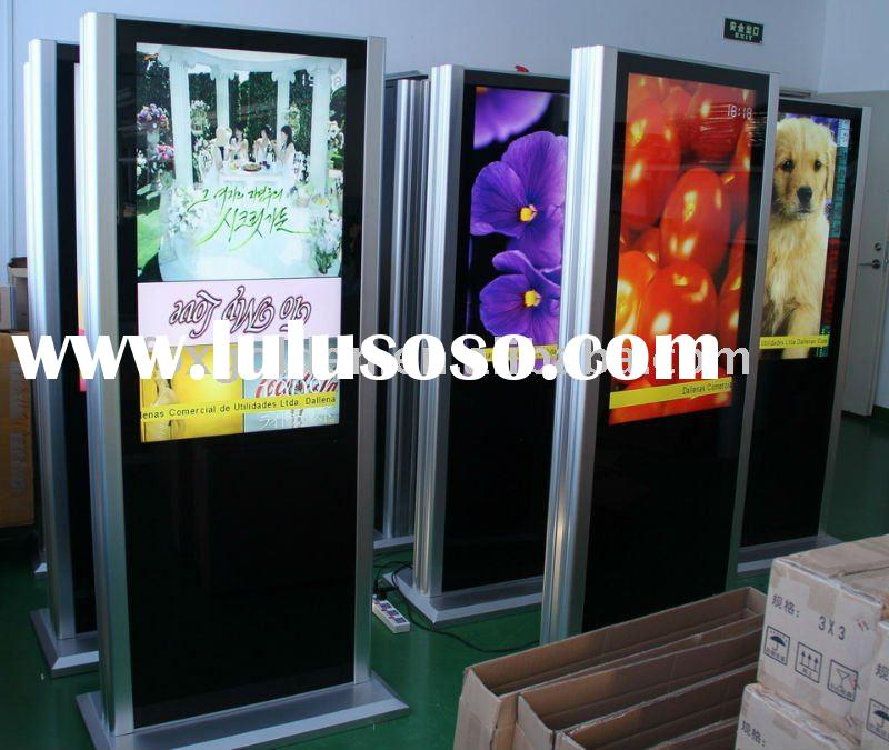 P8 indoor LCD/LED advertising display touch board panel 3D TV new/ hot products In alibaba