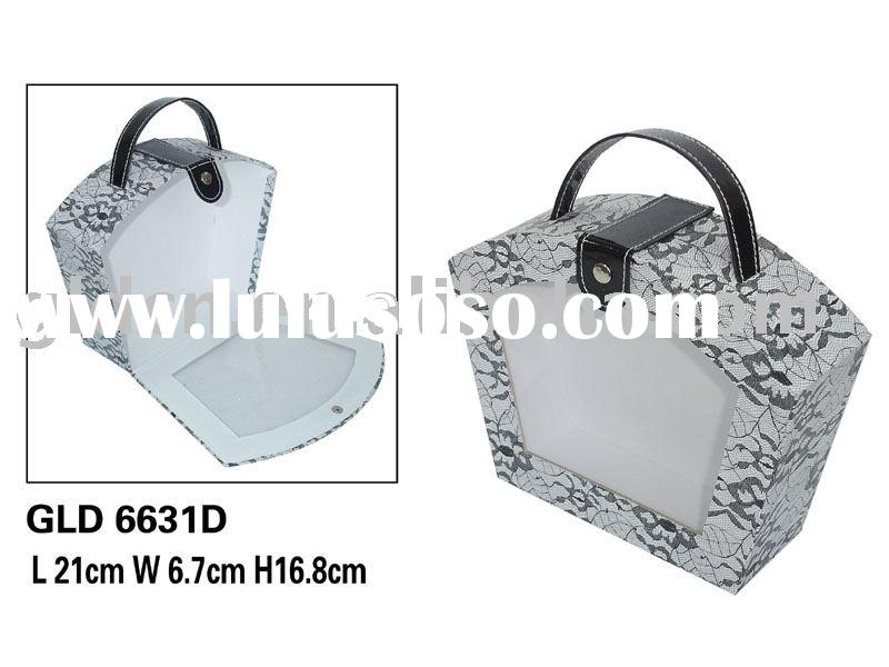 Paper gift box with PVC window; Paper cosmetic box;cardboard display boxes