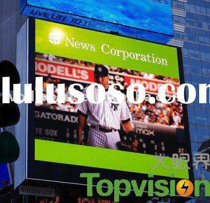 Pitch 10mm Outdoor Advertising LED Display