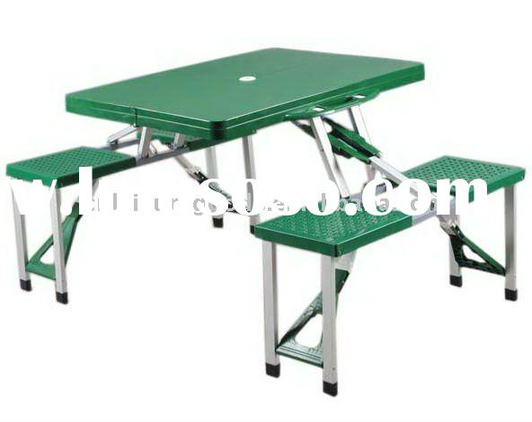 Foldable Picnic Table : Camping Folding Picnic Table