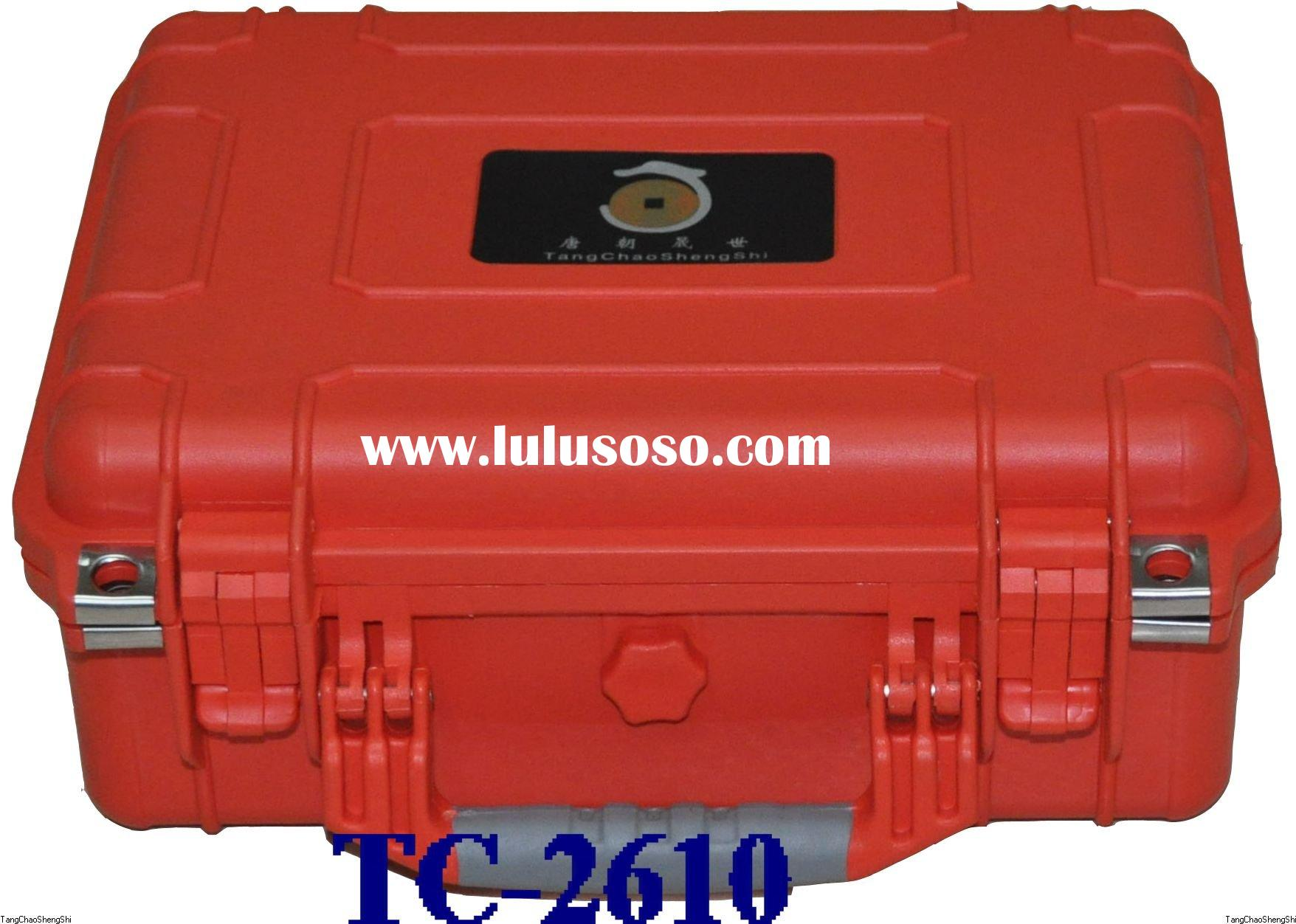 Plastic waterproof tool boxes with lock