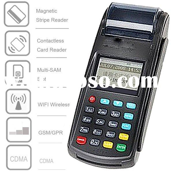 Point of Sale POS Credit Card Terminals Contains Credit Card, Debet Card, Check, Smart Chip Card, &a